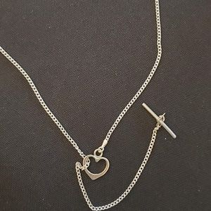 Jewelry - Sterling Silver Ring Holder Necklace